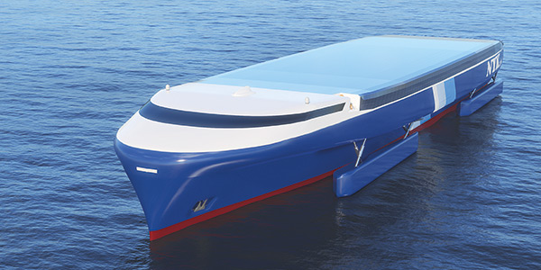 artikkelikuva: An emission-free cargo ship has already been designed