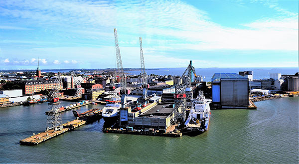 article picture: Helsinki shipyard makes a big-time comeback