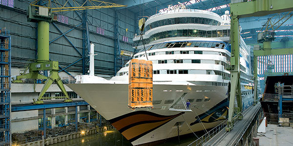 artikkelikuva: ISOVER is a great fit for cruise ships