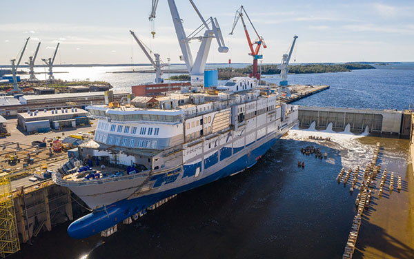 article picture: RMC shipyars in Rauma keeps up the shipbuilding