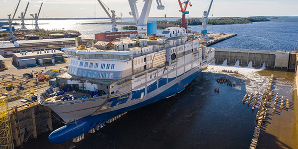 artikkelikuva: RMC shipyars in Rauma keeps up the shipbuilding